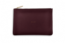 Katie Loxton ARM CANDY Perfect Pouch Clutch Bag - Burgundy